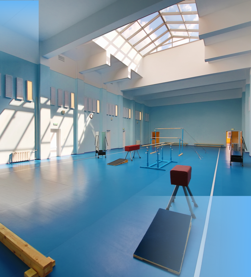 school gym flooring Leicester