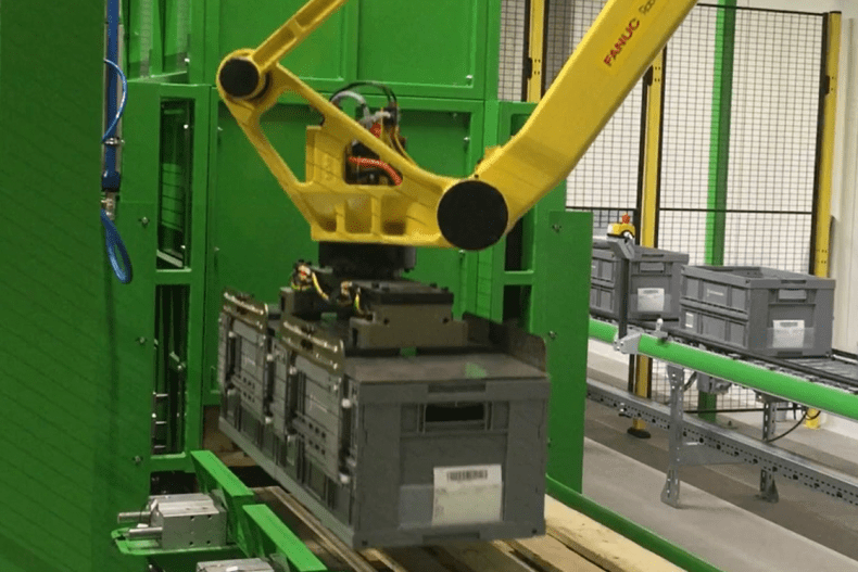 Stacker tote
