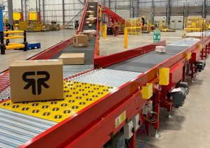 Using AI with conveyors